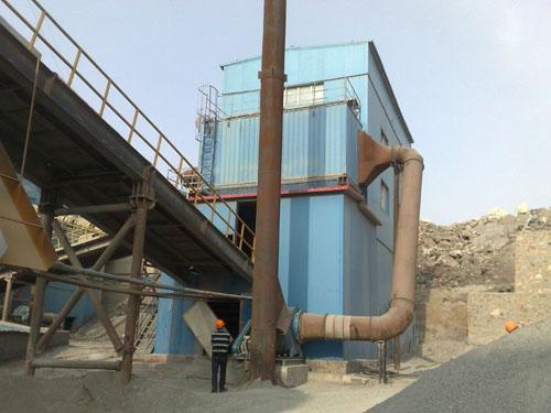 石料厂布袋除尘器